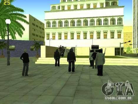 O Filme do concerto para GTA San Andreas sétima tela