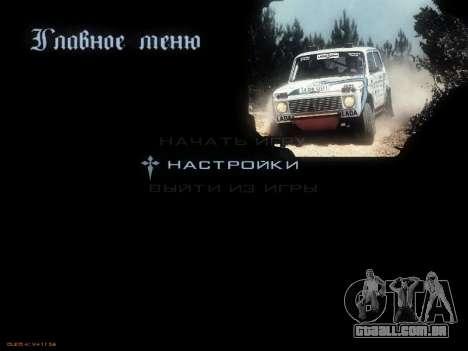 Menu Soviética carros para GTA San Andreas