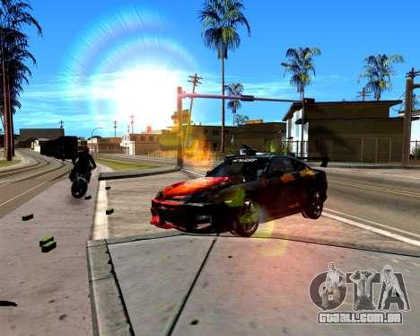 ENB para PC fraco para GTA San Andreas segunda tela