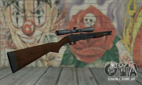Shotgun Model 12 para GTA San Andreas segunda tela