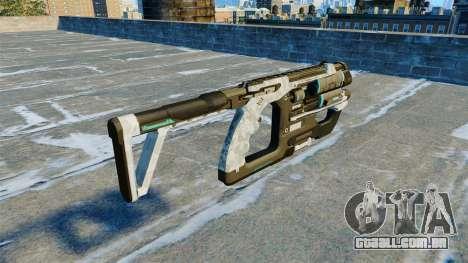 Submetralhadora arma K-Volt v 2.0 para GTA 4 segundo screenshot