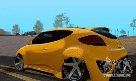 Hyundai Veloster para GTA San Andreas esquerda vista