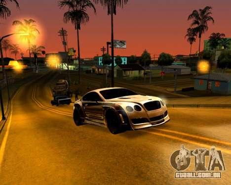 ENB para PC fraco para GTA San Andreas terceira tela