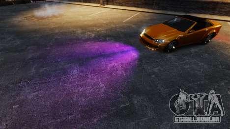 Roxo luzes para GTA 4