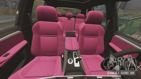 BMW X5M v2.0 para GTA 4 interior