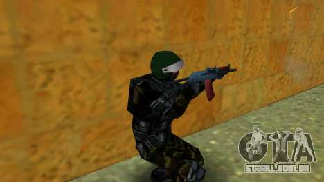 Lutador Alfa Antiterror para GTA Vice City terceira tela