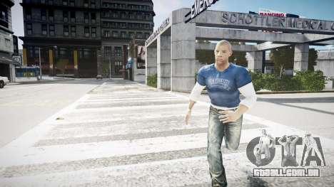 Vin Diesel Wheelman para GTA 4 segundo screenshot