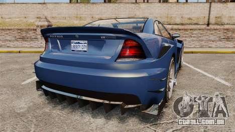 GTA V Feltzer para GTA 4 traseira esquerda vista
