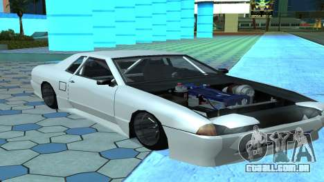 Elegy 280sx v2.0 para GTA San Andreas esquerda vista