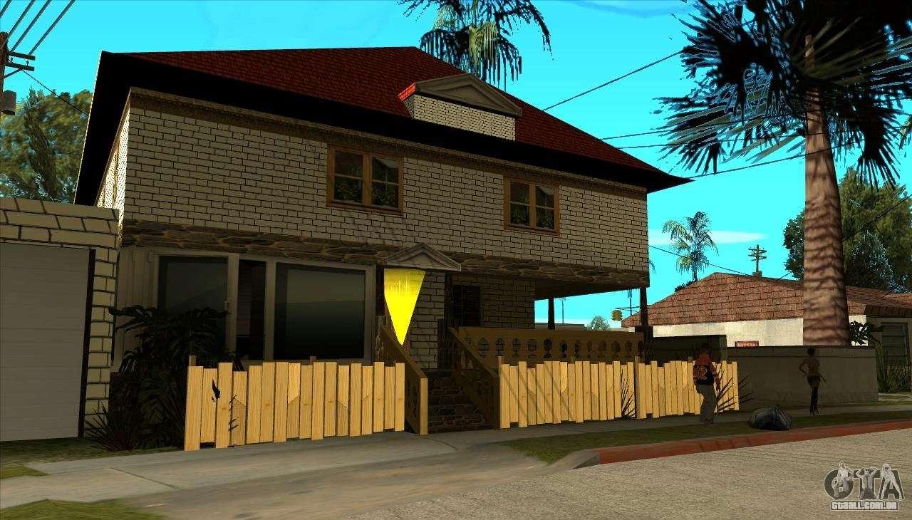 Moderna casa de sijia v1 0 para gta san andreas for Casa moderna gta sa