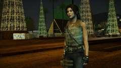 Tomb Raider Lara Croft Guerilla Outfit para GTA San Andreas
