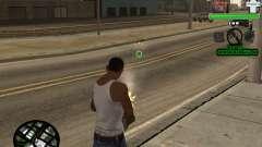 C-HUD by Tyler para GTA San Andreas