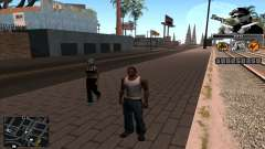 C-Hud Eazy-E para GTA San Andreas