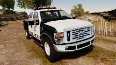 Ford F-250 Super Duty Police [ELS]