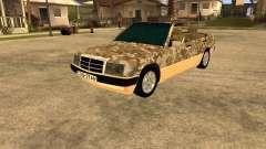 Mercedes-Benz 190E Army para GTA San Andreas