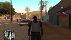 C-HUD (LSPD) para GTA San Andreas