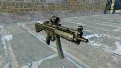 Pistola-metralhadora MP5 RIS Nom900a
