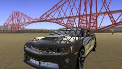 Chevrolet Camaro ZL1 купе para GTA San Andreas
