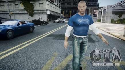 Vin Diesel Wheelman para GTA 4