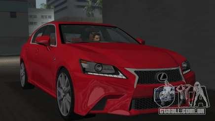 Lexus GS350 F Sport 2013 para GTA Vice City