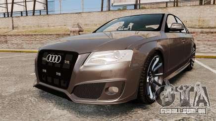Audi S4 2013 Unmarked Police [ELS] para GTA 4