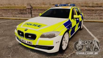 BMW 530d Touring Lancashire Police [ELS] para GTA 4