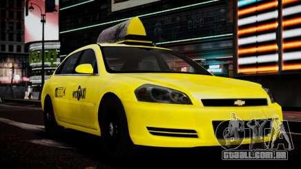 Chevrolet Impala De 2006 Такси para GTA 4
