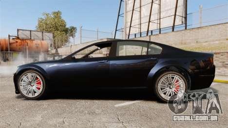GTA V Cheval Fugitive para GTA 4 esquerda vista