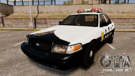 Ford Crown Victoria Japanese Police [ELS] para GTA 4