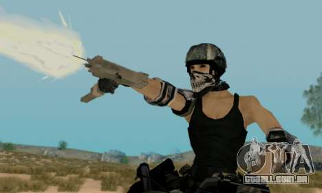 SWAT GIRL para GTA San Andreas terceira tela