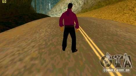 A nova textura shmycr para GTA San Andreas segunda tela