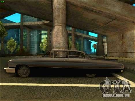 Cadillac Stella 1959 para GTA San Andreas esquerda vista