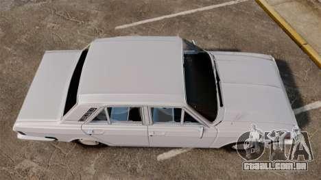 IKCO Paykan 1970 para GTA 4 vista direita