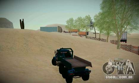 Pista de off-road para GTA San Andreas quinto tela