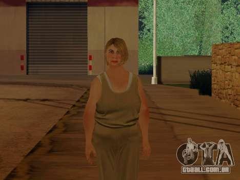 Mulher idosa para GTA San Andreas segunda tela