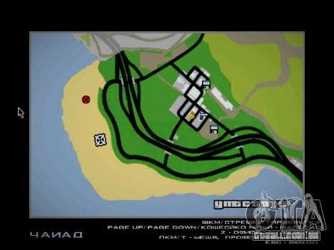Pista de off-road para GTA San Andreas décima primeira imagem de tela