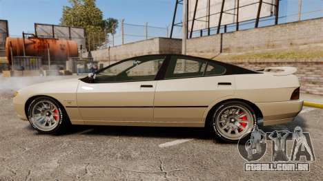Imponte DF8-90 new wheels para GTA 4 esquerda vista