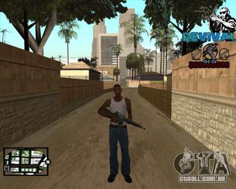 S-HUD-Revival-DM Por Mario_Nostra para GTA San Andreas