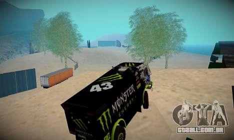 Pista de off-road para GTA San Andreas segunda tela