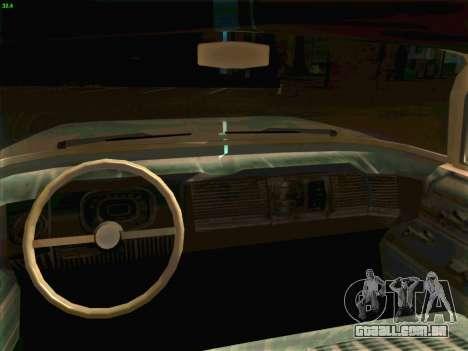Cadillac Stella 1959 para GTA San Andreas vista traseira