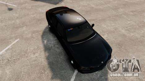 Dodge Charger Slicktop Police [ELS] para GTA 4 vista direita