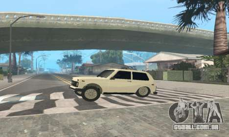VAZ 21214 Avtosh para GTA San Andreas vista traseira