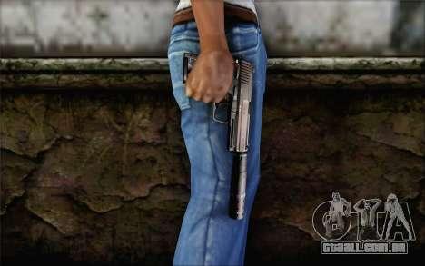 G17 pistol para GTA San Andreas terceira tela
