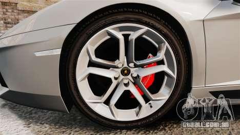 Lamborghini Aventador LP700-4 2012 [EPM] v1.1 para GTA 4 vista de volta
