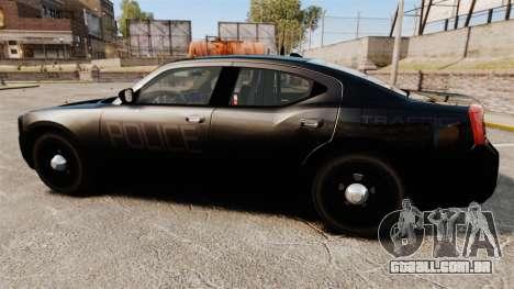 Dodge Charger Slicktop Police [ELS] para GTA 4 esquerda vista