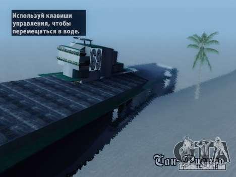 Naufrágio para GTA San Andreas segunda tela
