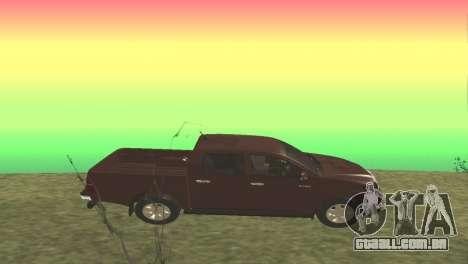 Toyota Hilux 2014 para GTA San Andreas esquerda vista