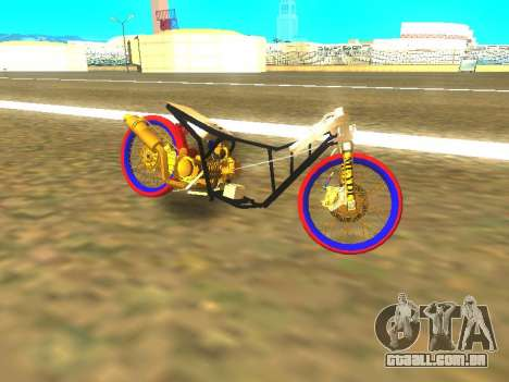 Drag Mio Full GOLD para GTA San Andreas