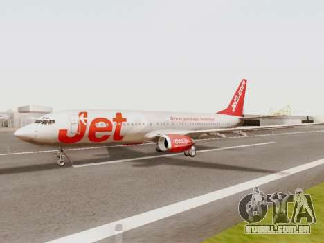 Boeing 737-800 Jet2 para GTA San Andreas