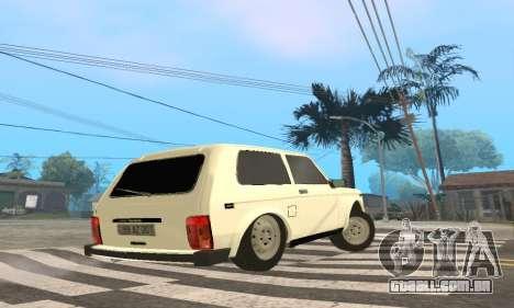 VAZ 21214 Avtosh para GTA San Andreas vista direita